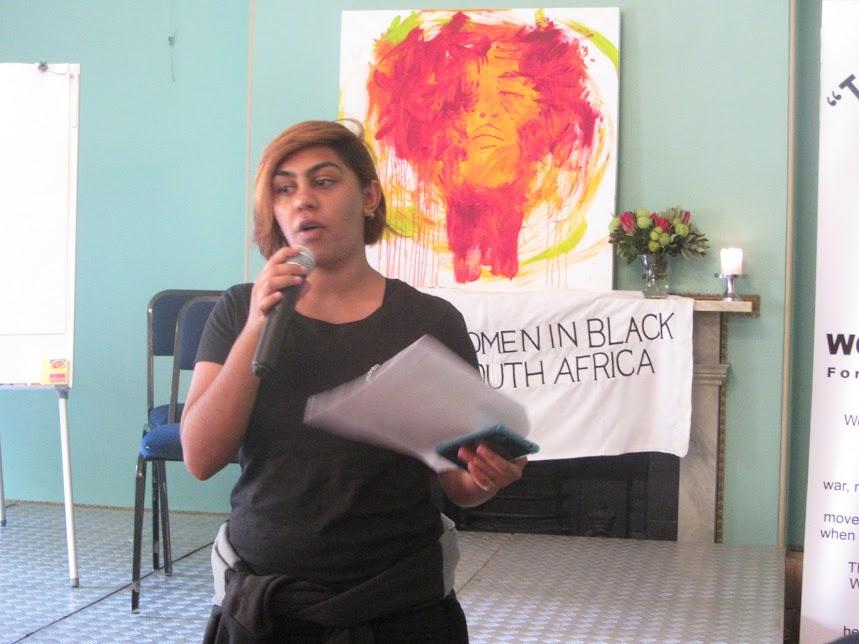 Maravilloso! las mujeres de negro de Ciudad del Cabo